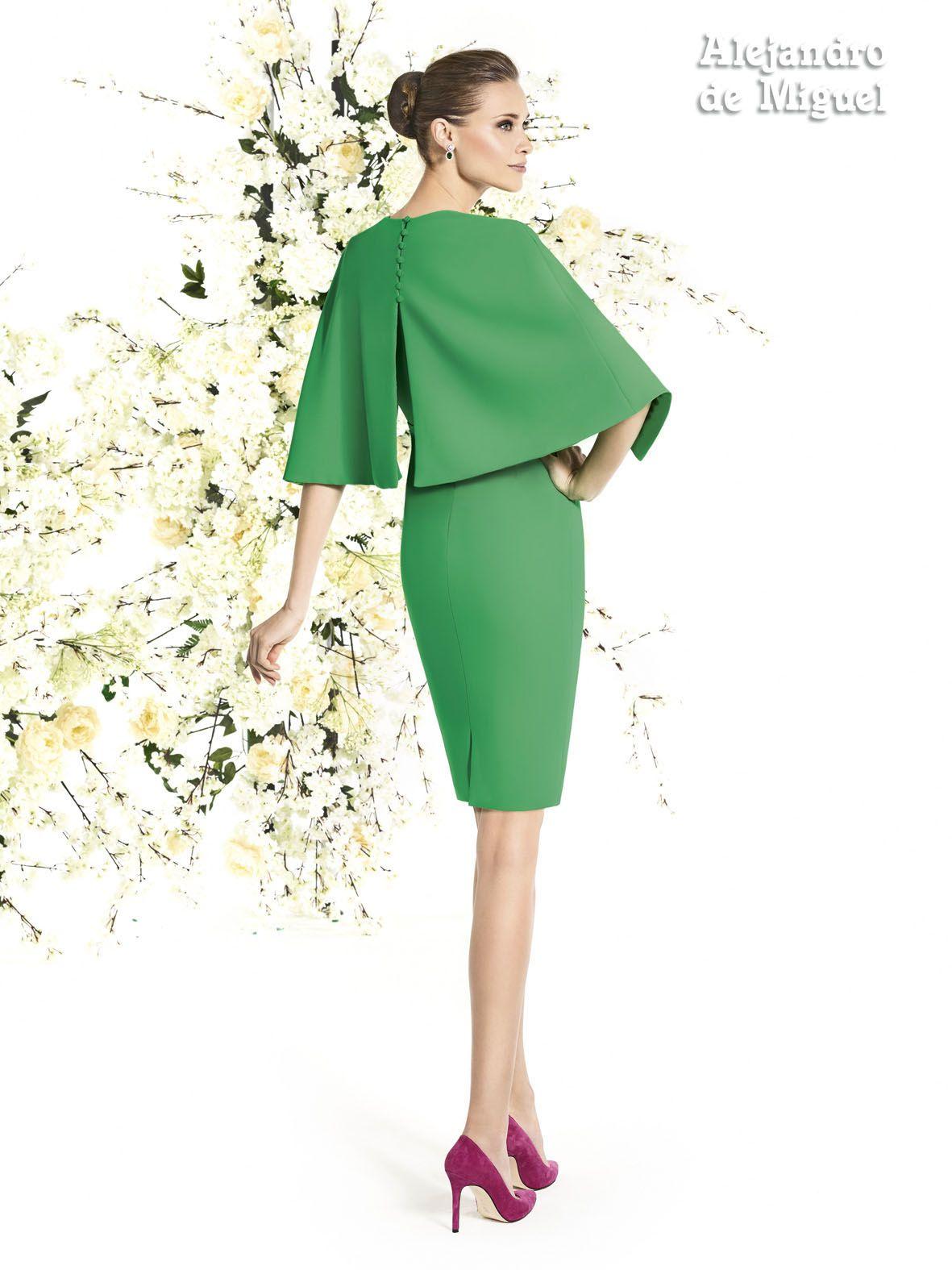 1d6d6ddd1d Alejandro de Miguel | Vestido Corto – mod. 790 | Dresses | Vestidos ...