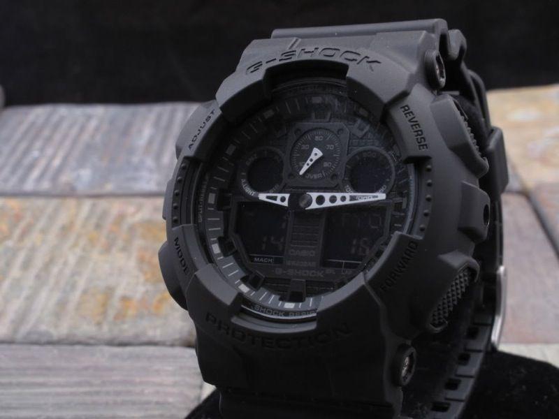 Ga 100 1a1 Military Series1 2 2014 G Shock G Shock Watches G Shock Black