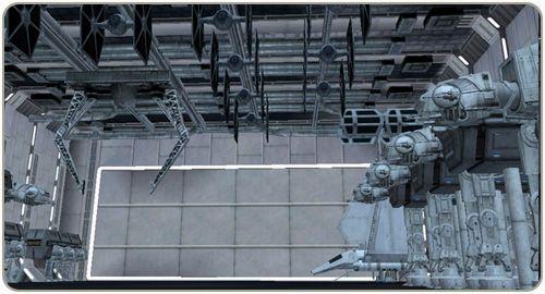 The Death Star Project hangar