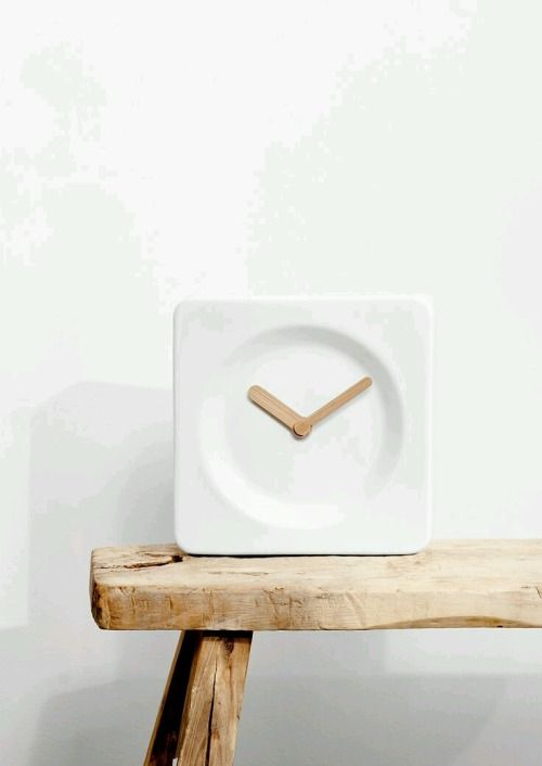 White Watch | Minimal #watch #wooddesign #white #minimal