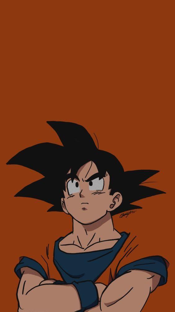 Base Goku Dbs Anime Dragon Ball Super Dragon Ball Wallpaper Iphone Dragon Ball Super Manga