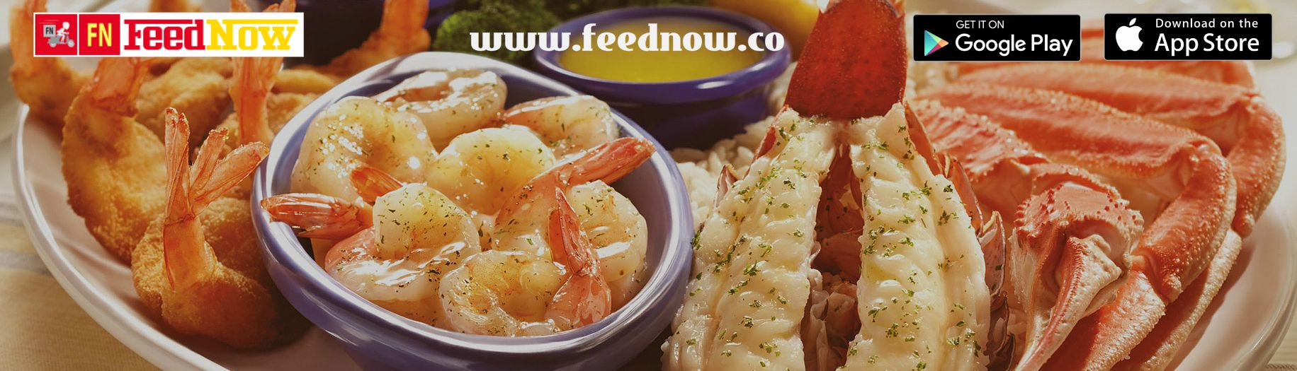 Experience sea food extravaganza with feednow the