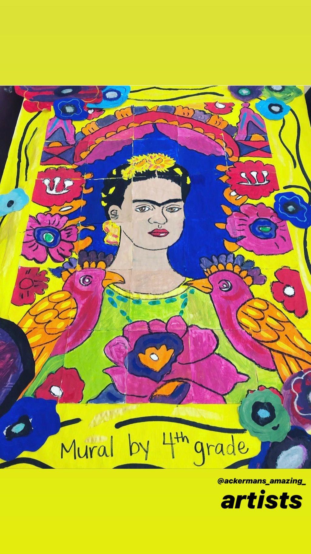 The Frame Frida Kahlo Collab Poster