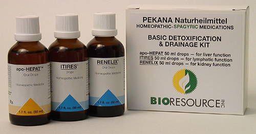 Big Three Detoxification & Drainage Kit from Pekana  Basic Detox Kit