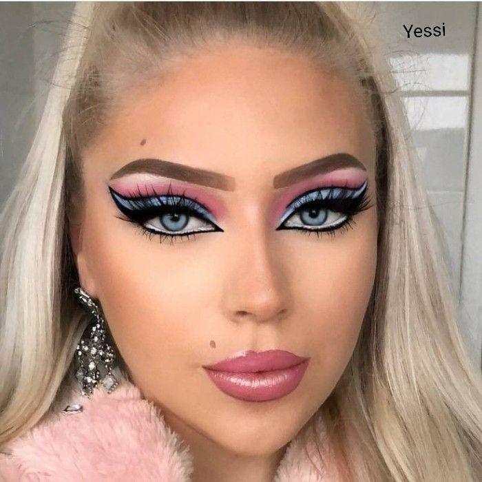 Maquillaje Cabello Y Maquillaje Maquillaje Barbie Maquillaje De Ojos Artistico