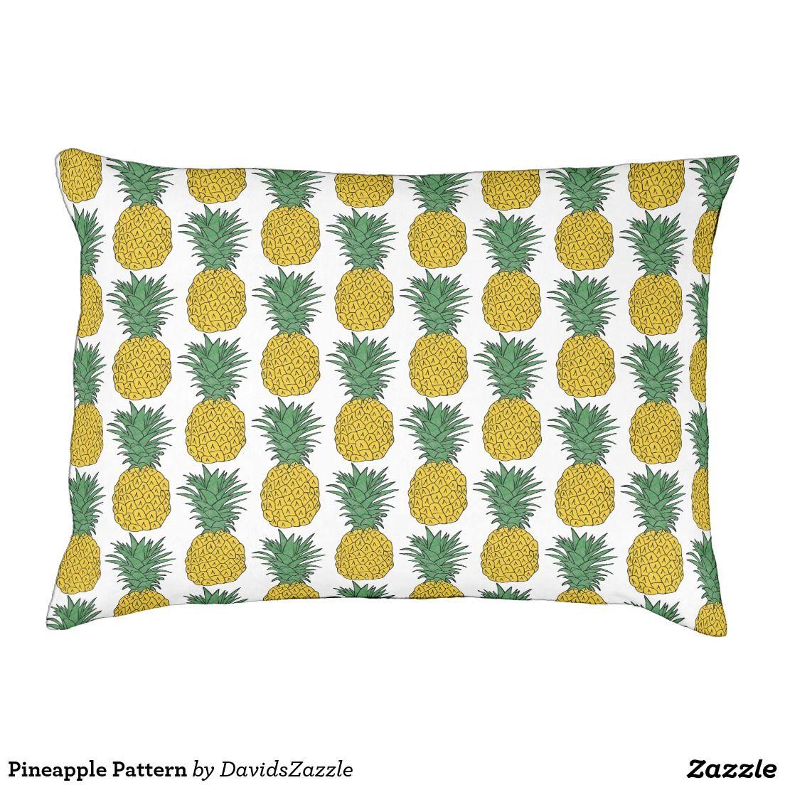 Pineapple Pattern Pet Bed in 2020 Pineapple
