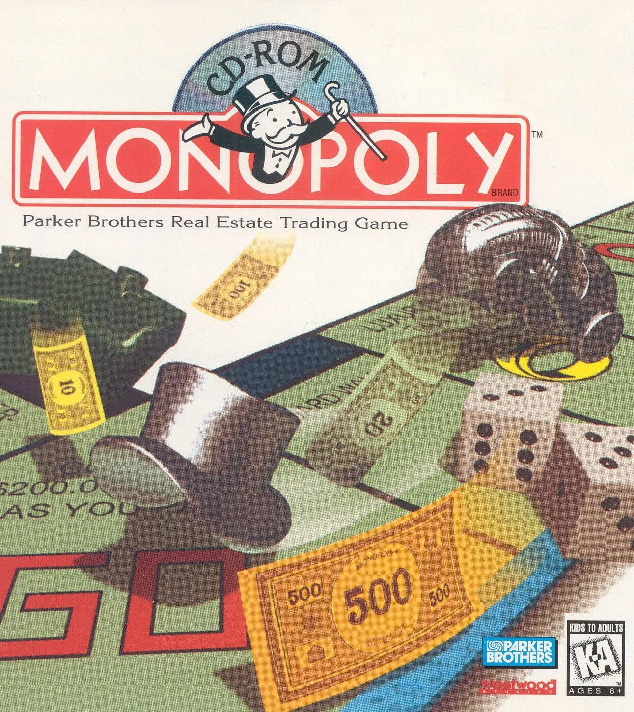 MONOPOLY PC 1995 WESTWOOD +1Clk Windows 10 8 7 Vista XP