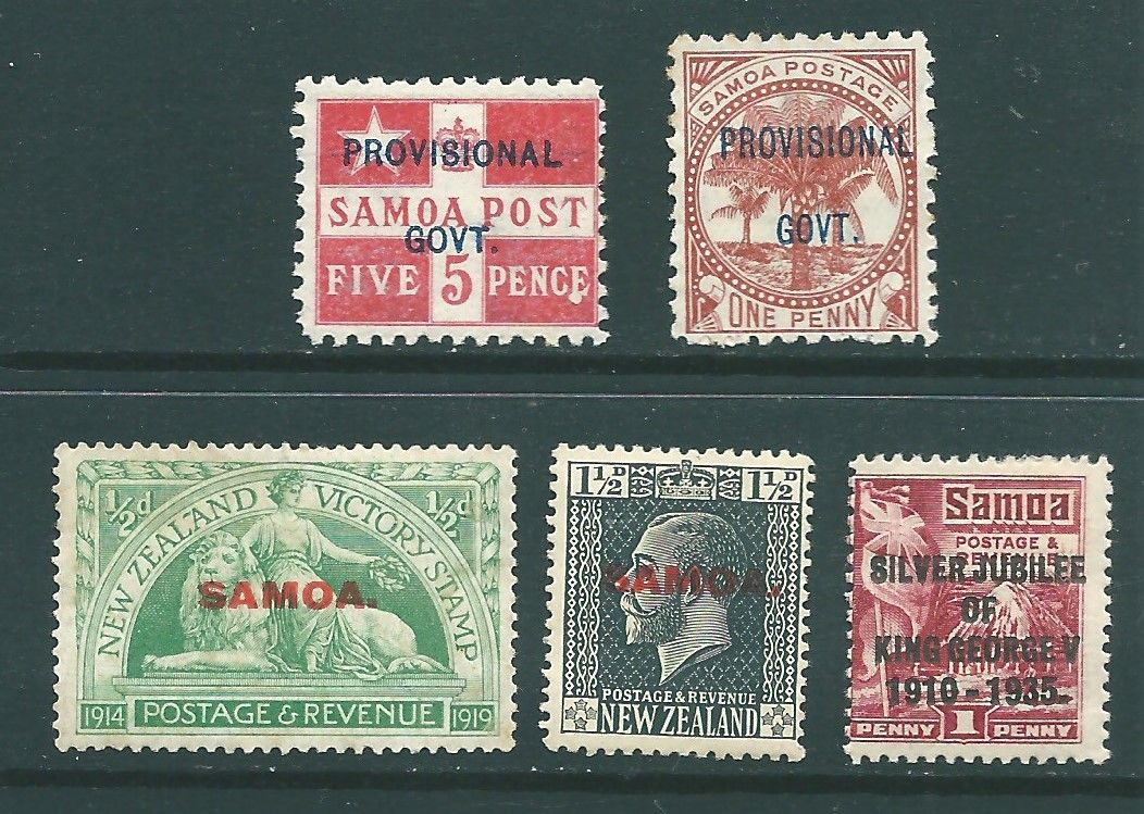 SAMOA postage stamps | Stamp Collecting | Stamp, Stamp