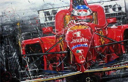 Michael Schumacher Schumi Racing F1  Vinyl Sticker Decal