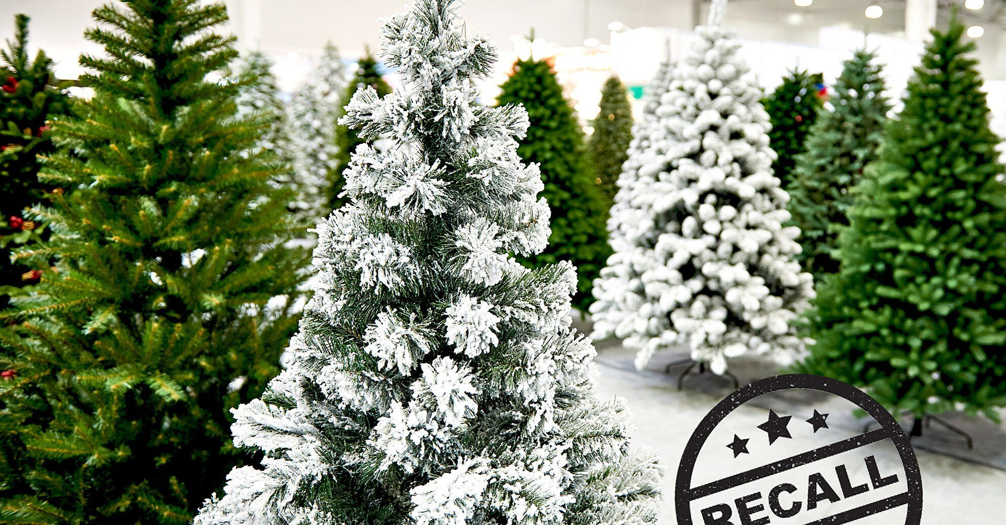 More Than 100 000 Artificial Christmas Trees Purchased Last Year Were Just Recalled In 2020 Artificial Christmas Tree Artificial Tree Christmas Cards To Make