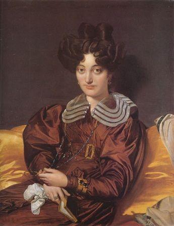 Suzanne-Clarisse de Salvaing de Boissieu, Madame Marie Marcotte, 1826 (Jean August Dominique Ingres) (1770-1867) Location TBD