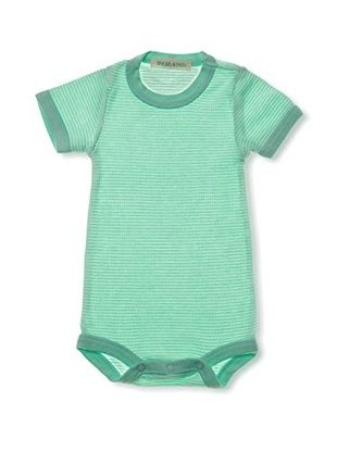 PAIGELAUREN Baby Short Sleeve Bodysuit (Honey)