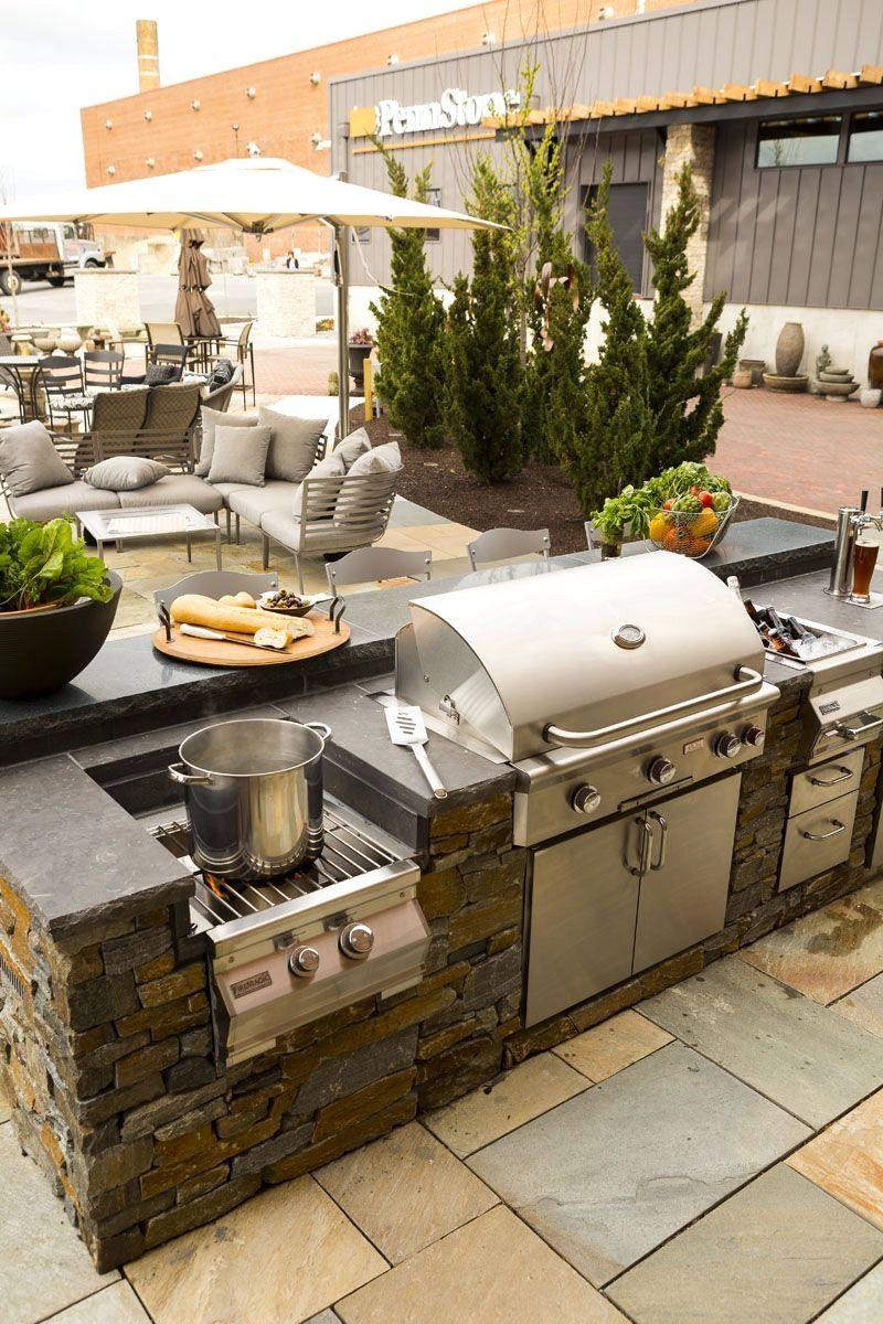 Backyard Kitchen Design: 31 Landscape Lighting Ideas Walkways To Beautify Your