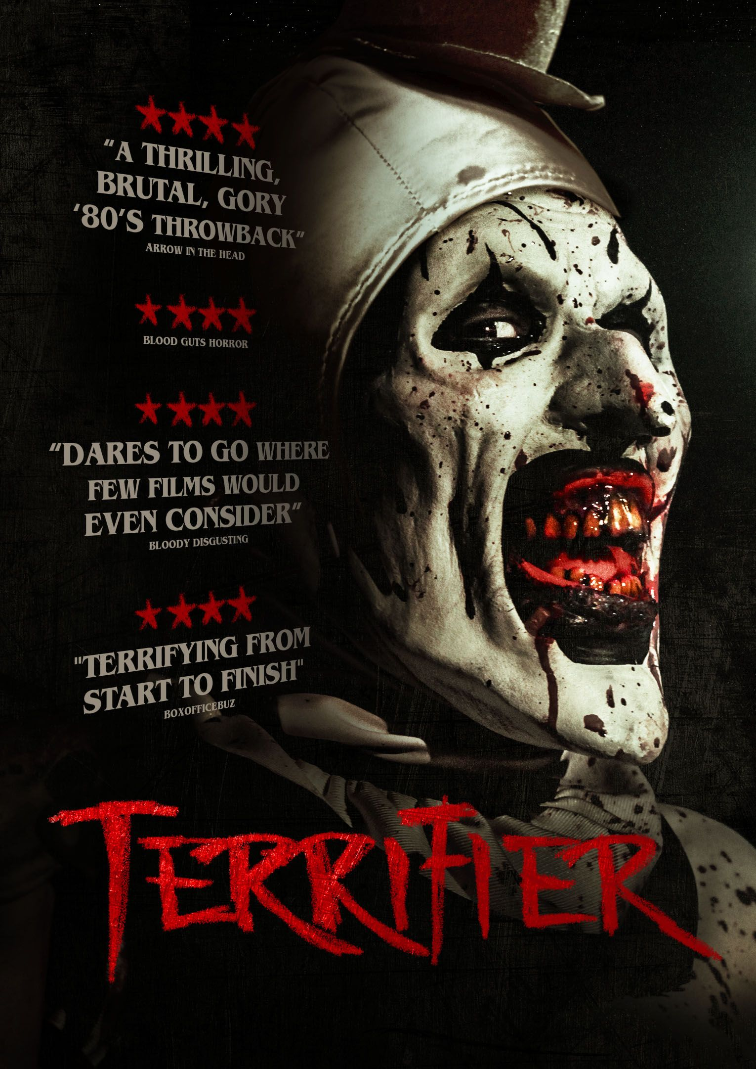 Risultati immagini per terrifier film poster