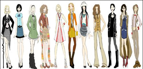 I want all of these outfits please!