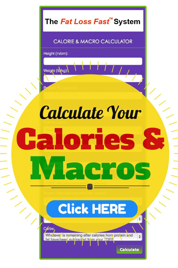 This calculator is sooo far off from my numbers\u003d0 Working On - calorie and fat calculator