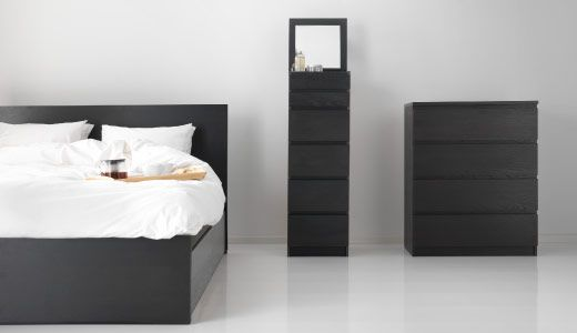 Us Furniture And Home Furnishings Ikea Malm Bed Ikea Bedroom