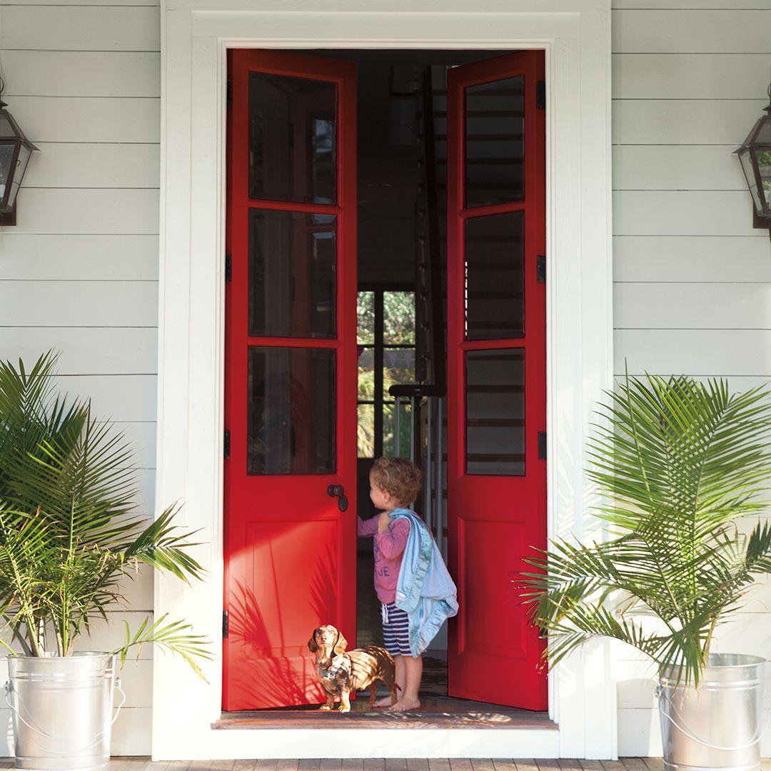 Front Door Inspiration: Front Door Color Ideas And Inspiration In 2019
