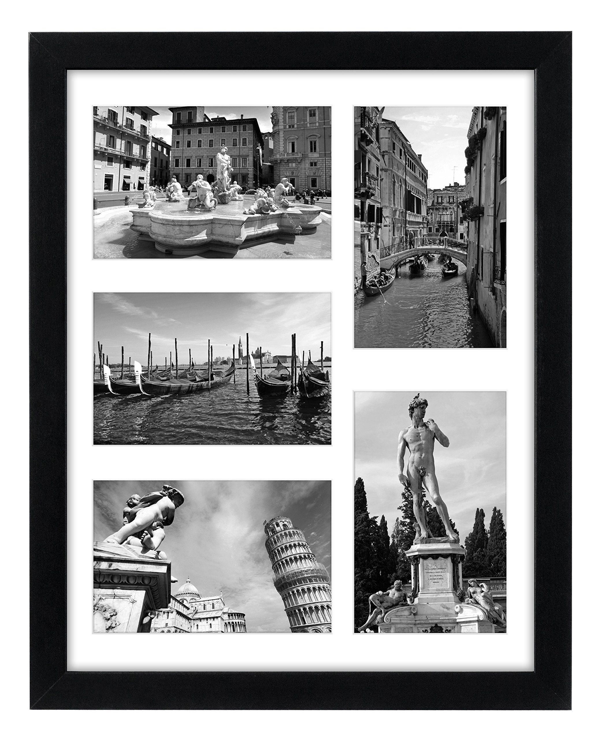 Collage Picture Frame 11x14 - Displays Five 4x6 Inch Pictures with ...