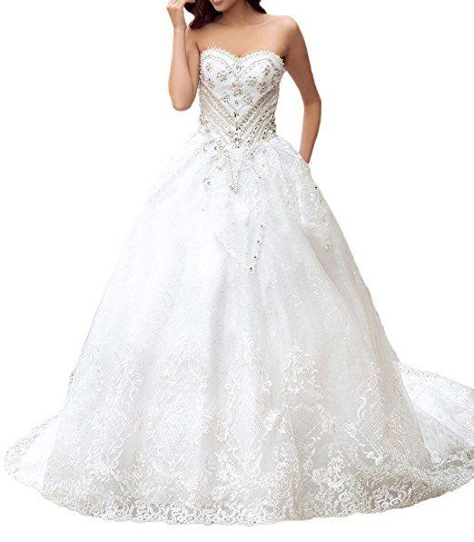 Milano Bride Vintage Traegerlos Hochzeitskleider Brautkleider ...