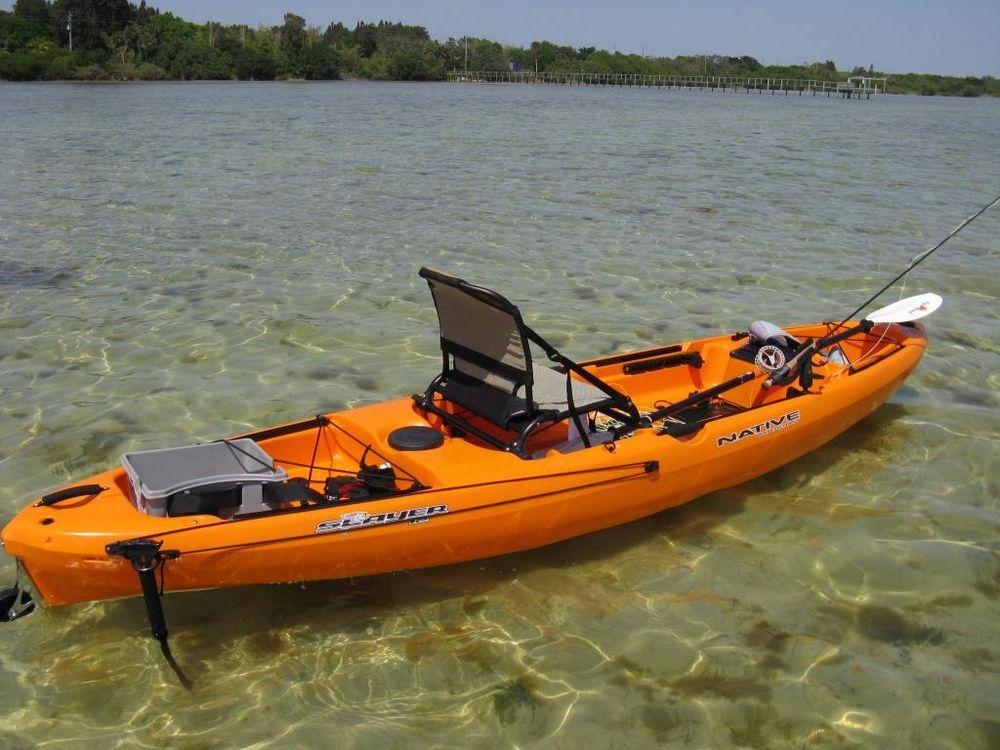 Fishing kayak native slayer 12 kayaking pinterest for Native fishing kayak