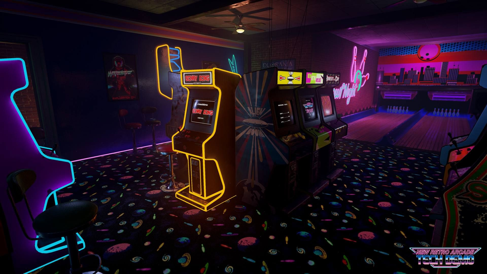 New Retro Arcade Launches With Htc Vive Support On Steam Retro Arcade Games Retro Arcade Arcade