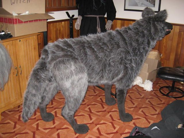 Impressive wolf build on Halloween Forum | halloween | Pinterest ...