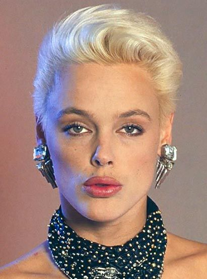 Brigitte Nielsen With Images Cool Hairstyles Pretty