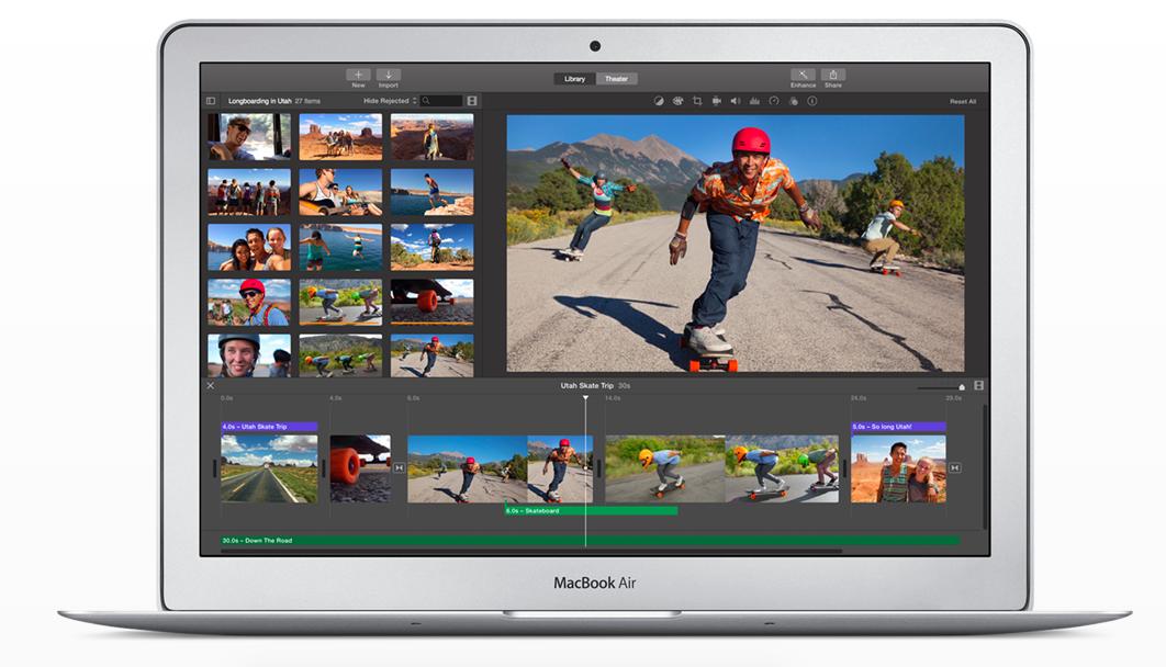 Imovie For Mac Apple Macbook Air Macbook Air Apple Macbook