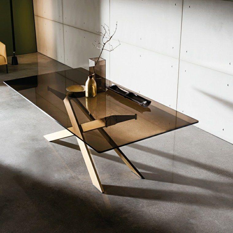 Designer Glastisch Fur Einen Schicken Und Modernen Wohnraum Glastische Esstisch Glas Esstisch