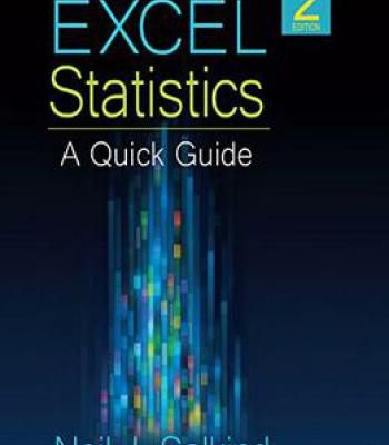 Excel Statistics A Quick Guide PDF Software Pinterest - excel spreadsheet compare office 2016
