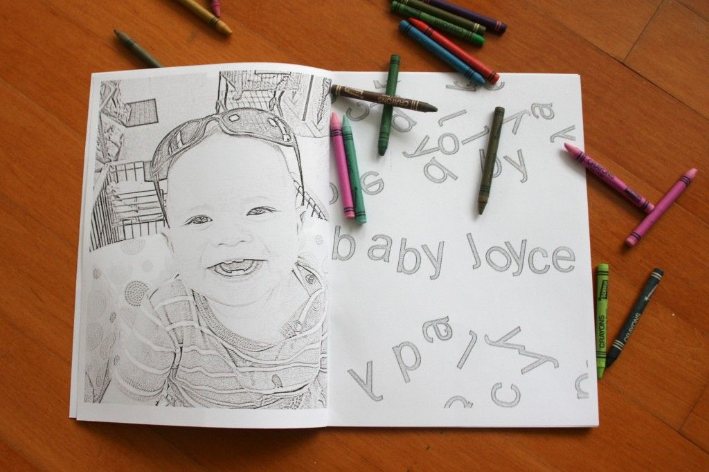 Personalized Coloring Books {coloring pictures | Coloring books ...
