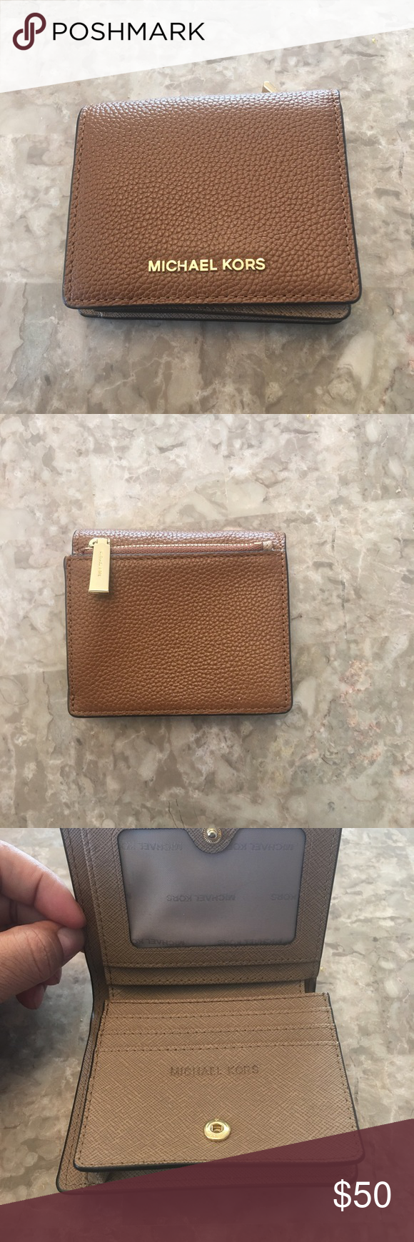 Michael Kors Cardholder Wallet Like new Michael Kors bifold wallet. Plenty of room for all your cards. Beautiful condition. Only used once. No marks , scratches or folds. MICHAEL Michael Kors Bags Wallets