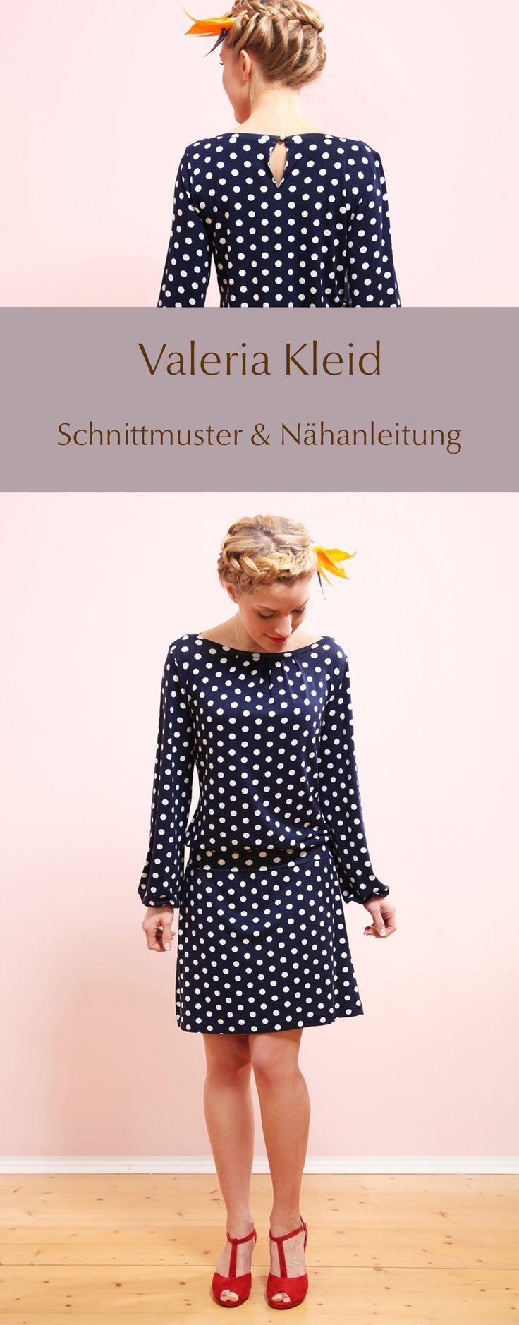 DIY Schnittmuster & Nähanleitung - Valeria Kleid selber nähen