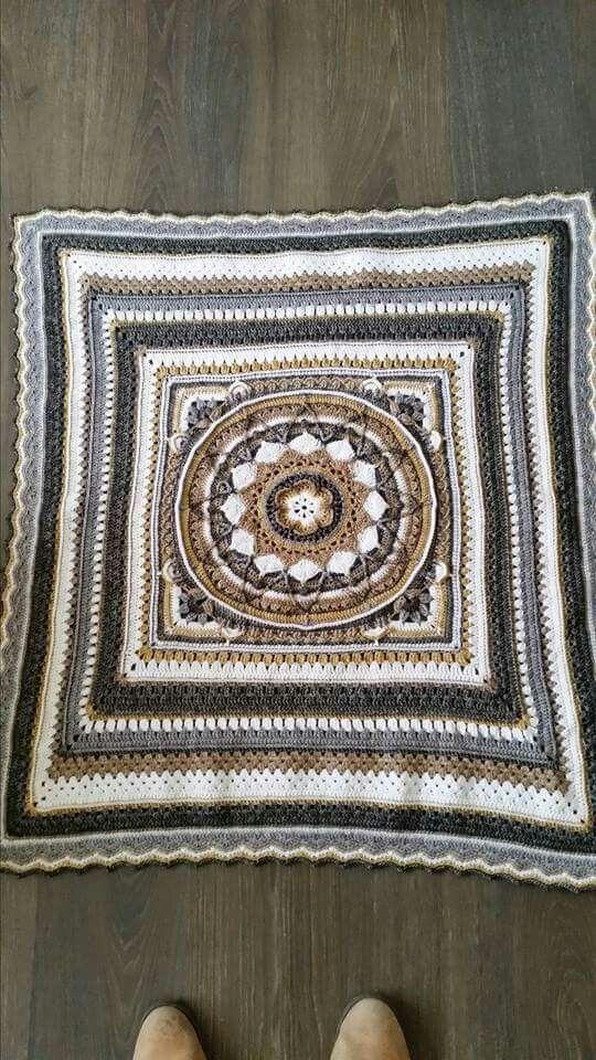 Sophie\'s Garden baby blanket | Sophie\'s Universe | Pinterest | Häckeln