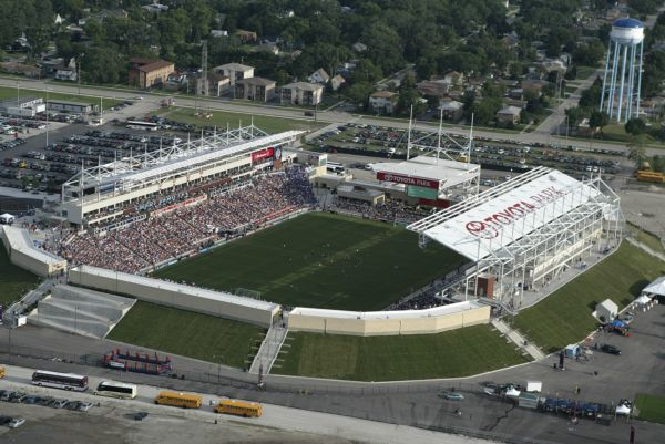 Toyota Park Home Of Chicago Fire Of Mls Bridgeview Illinois Usa Park Homes Chicago Fire Major League Soccer