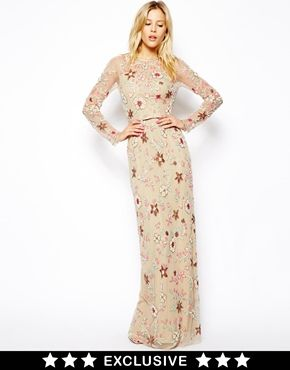7494b2d45eeb Needle & Thread | Needle & Thread Secret Garden Maxi Dress at ASOS ...
