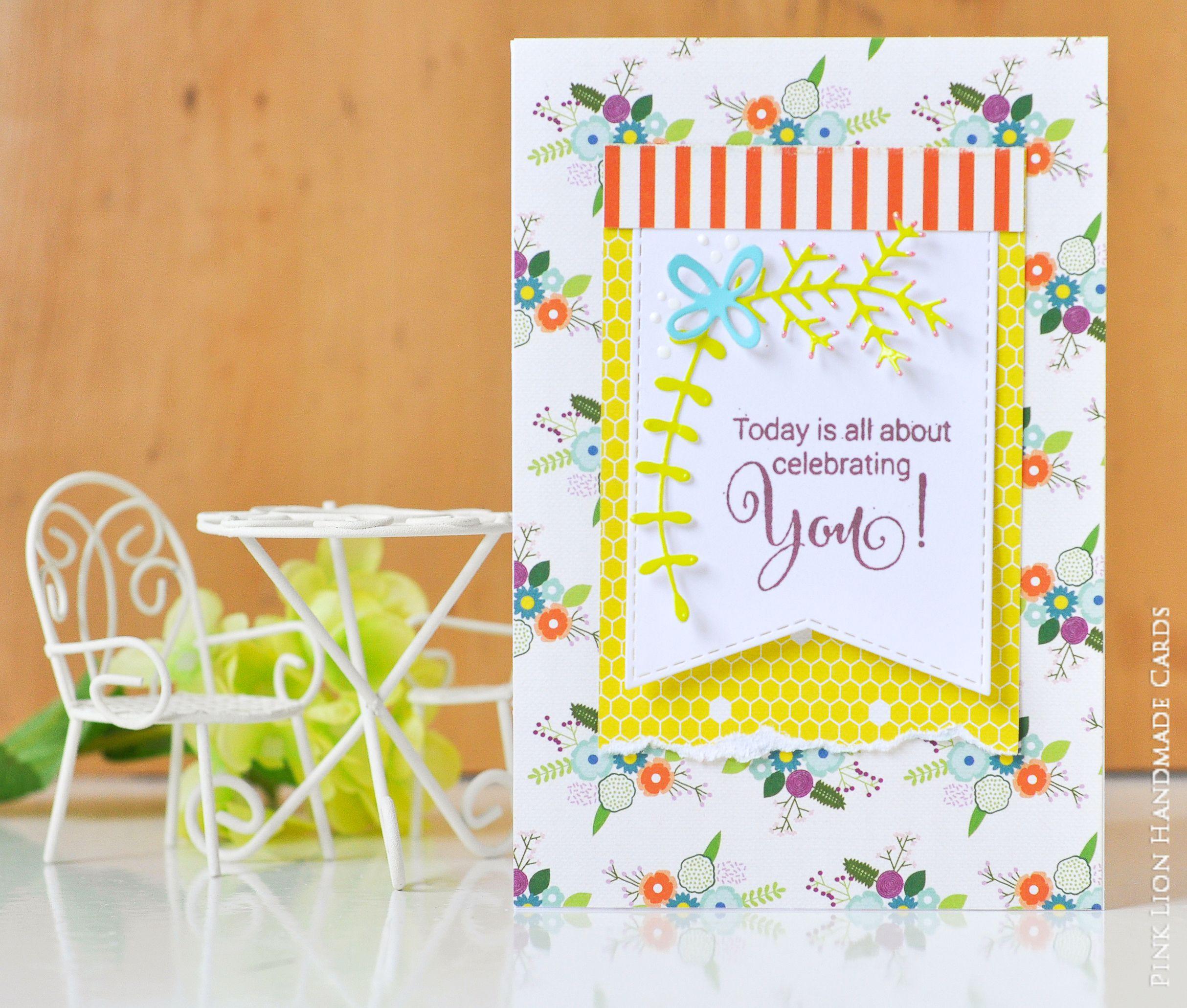 Happy Birthday Celebrate Christian Bible Verse Psalm Handmade Card