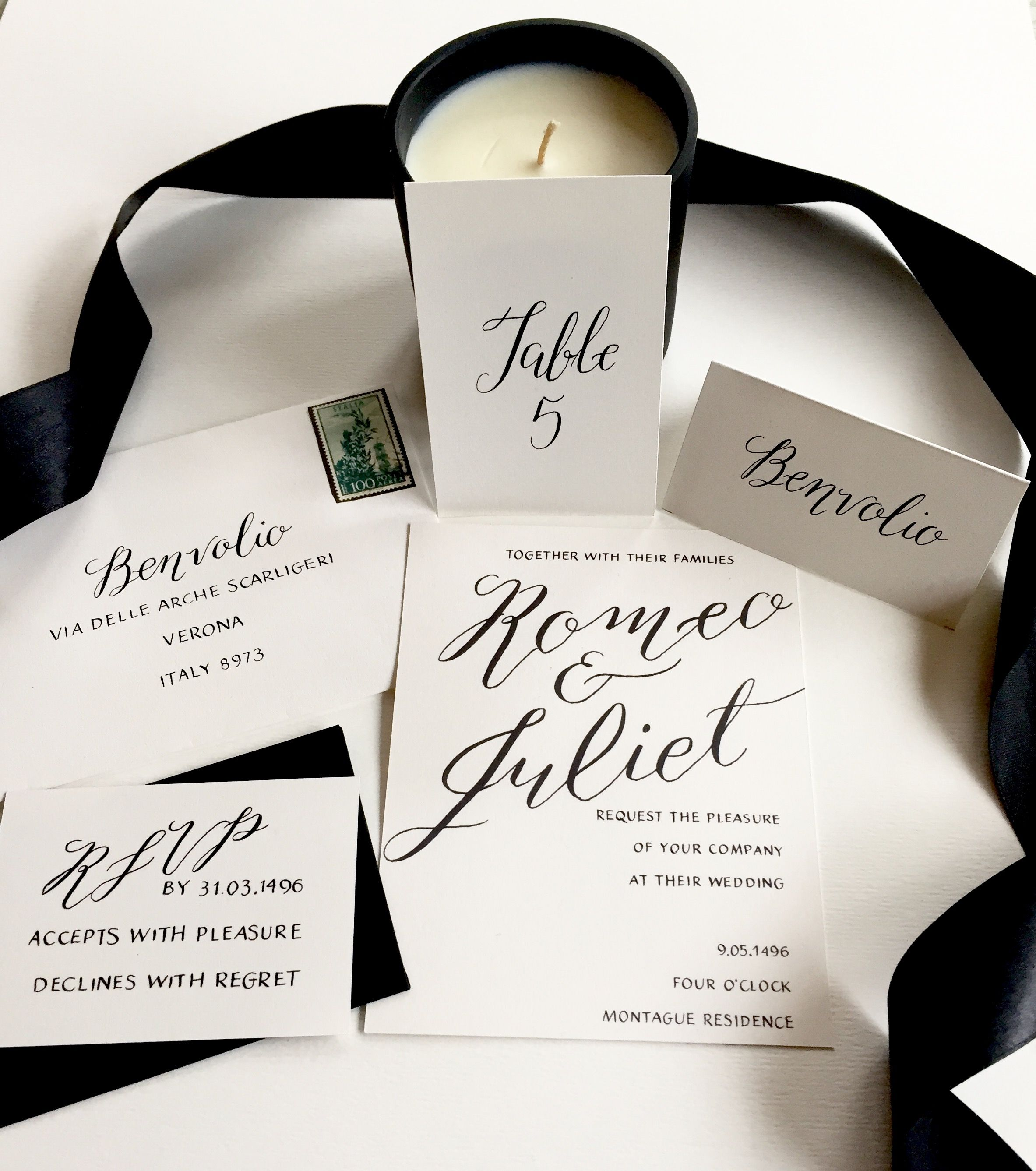 Classic Black and White elegance with the ultimate