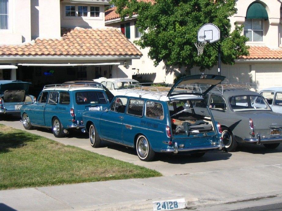 My kind of driveway! VW squareback Notchback | VW | Pinterest | Vw ...