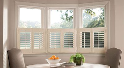 Half Height Is The Type Of Shutter Where Only The Lower Portion Of The Window Is Covered This Cafe Style Shutters Kitchen Window Treatments Interior Shutters