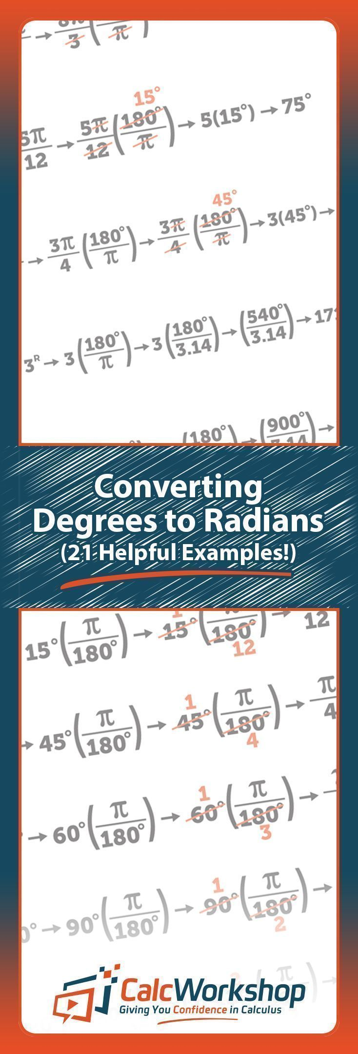 How to Convert Radians to Degrees - 21 Amazing Examples ...