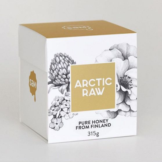 DesignCompany @ - Arctic Raw Honey Gift Box . Featured: @worldbranddesign Submit: /submit .