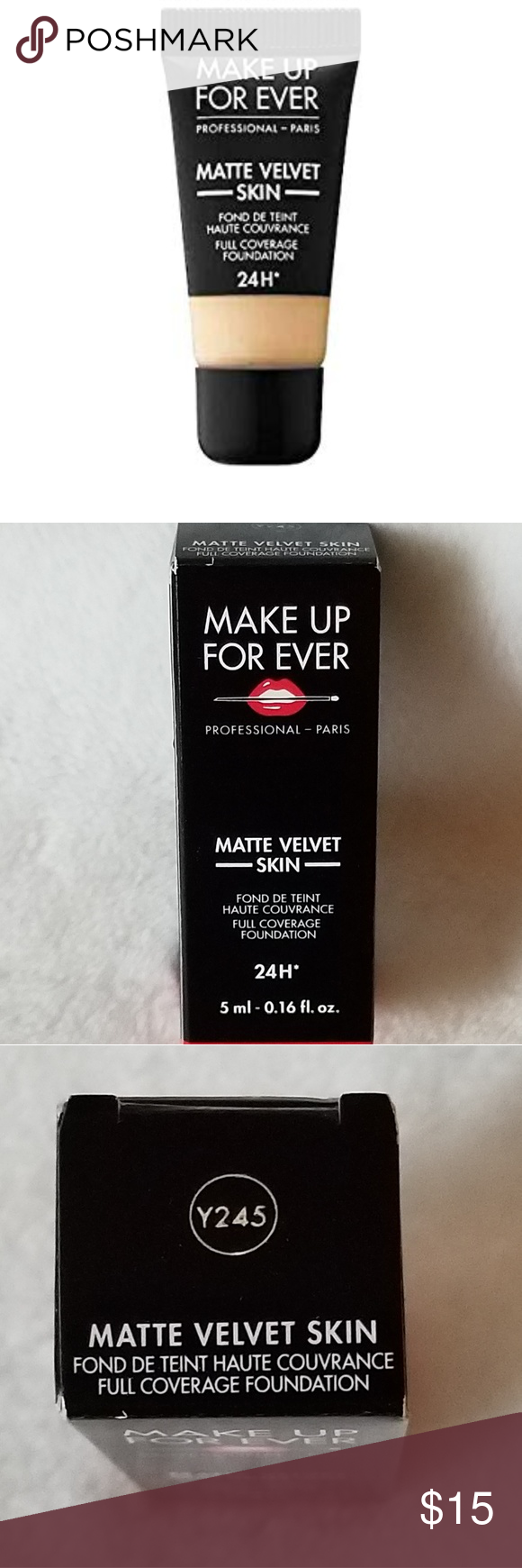 NIB MAKEUP FOREVER MATTE VELVET SKIN FOUNDATION TO