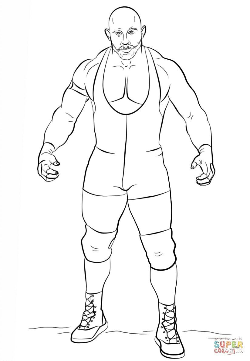 Ryback Coloring Pages Coloring Pages For Kids