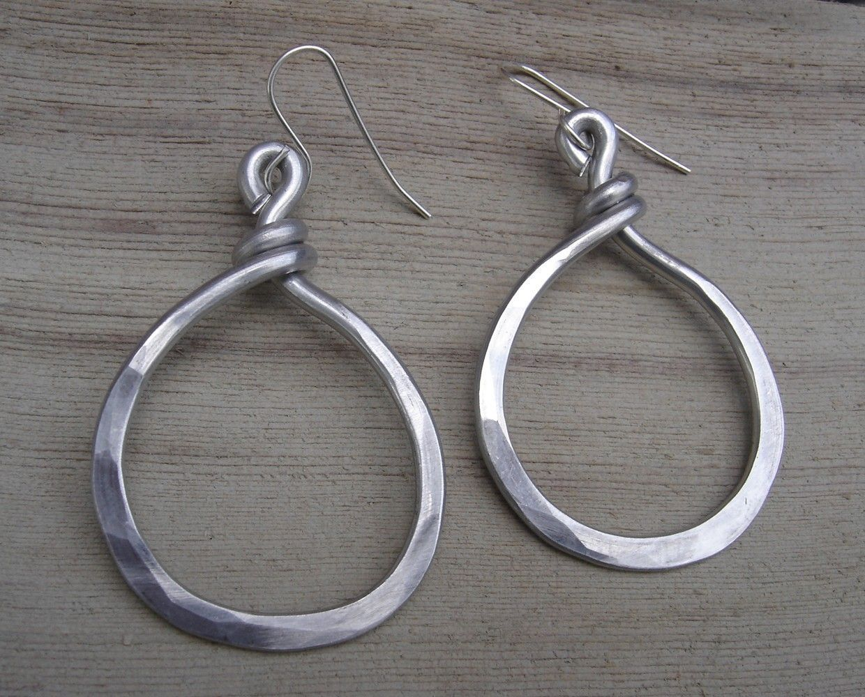 The Big O Circle Hoop Earrings - Light Weight Aluminum Wire ...
