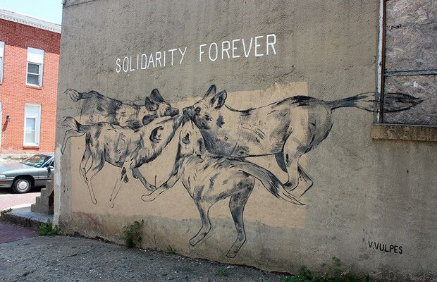 Vulpes Vulpes - The Best Street Art and Graffiti of 2014 (So Far) | Complex UK