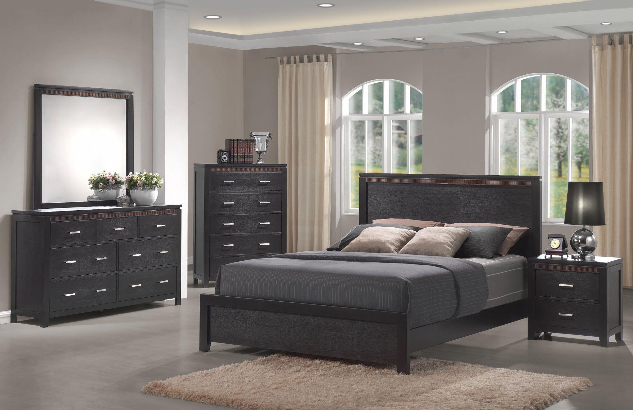 Trendy bed room furniture set design ideas