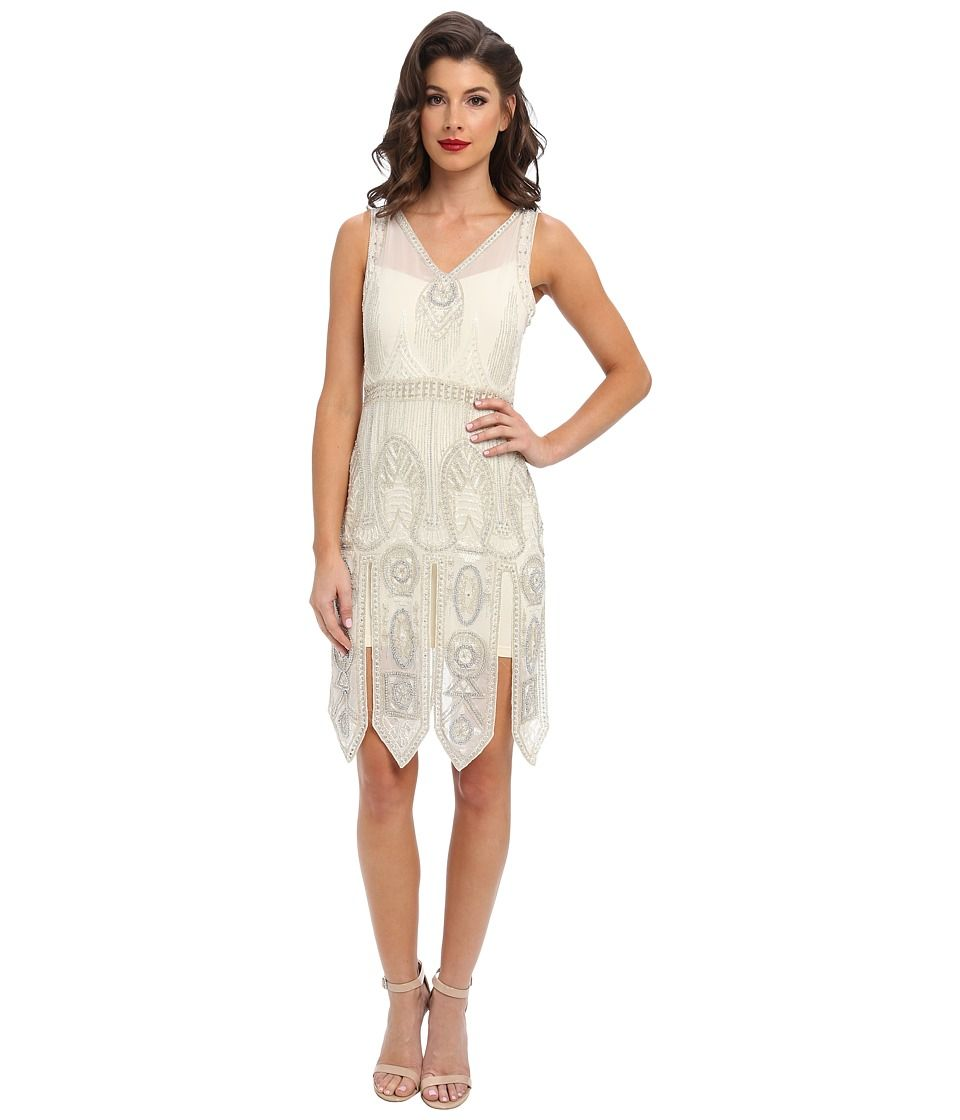 Pinterest flapper wedding dresses 1920s style and adrianna papell - 1920 S Style Dresses Flapper Dresses To Gatsby Dresses
