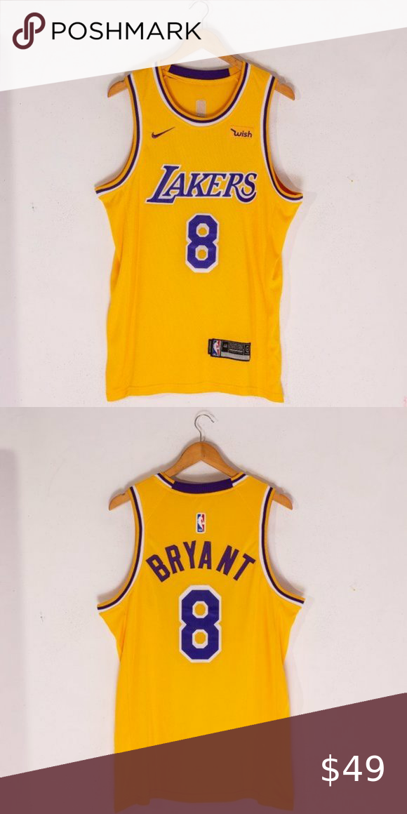 Kobe Bryant Los Angeles Lakers Fans Jersey